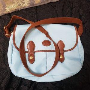 Longchamp Le Pliage Messenger Crossbody bag blue